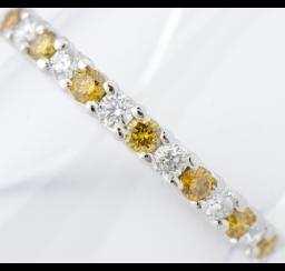 ホワイトダイヤモンドの買取事例01_ホワイトダイヤモンドリング
