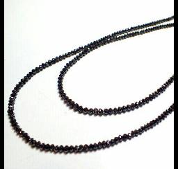 ブラックダイヤモンドの買取事例02_ブラックダイヤモンド ネックレス
