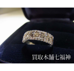 ブラウンダイヤモンドの買取事例02_ブラウンダイヤモンド リング