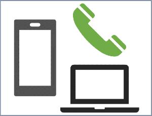宅配買取のイメージ1_電話や専用フォームで依頼
