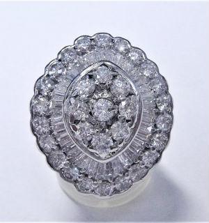 メレダイヤの買取事例01__総カラット数5ctのダイヤリング