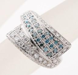 アイスブルーダイヤモンドの買取事例02_アイスブルーダイヤモンド リング