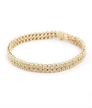 メレダイヤの買取事例05_総カラット数2.1ctのダイヤブレスレット