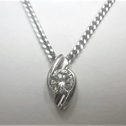 ダイヤモンドの買取事例03_ダイヤモンドネックレス
