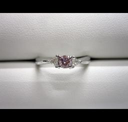 ピンクダイヤモンドの買取事例05_ピンクダイヤモンド リング