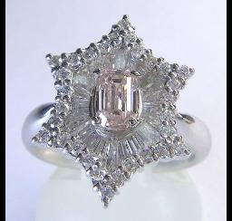 ピンクダイヤモンドの買取事例02_ピンクダイヤモンド リング