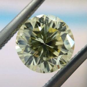 カラーダイヤモンドの買取事例04_イエローダイヤモンドル―ス